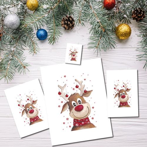 Goofy Reindeer