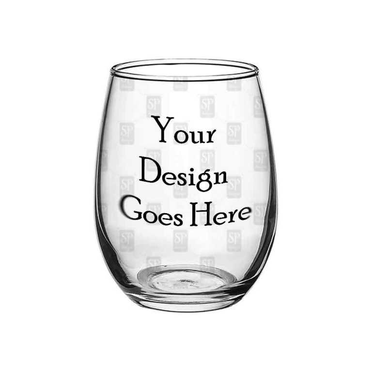 15oz Stemless Wine Glass