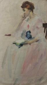 Sayre Cooney, oil painting study, Penn. Academy of Fine Art b