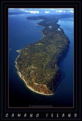 Camano Island views