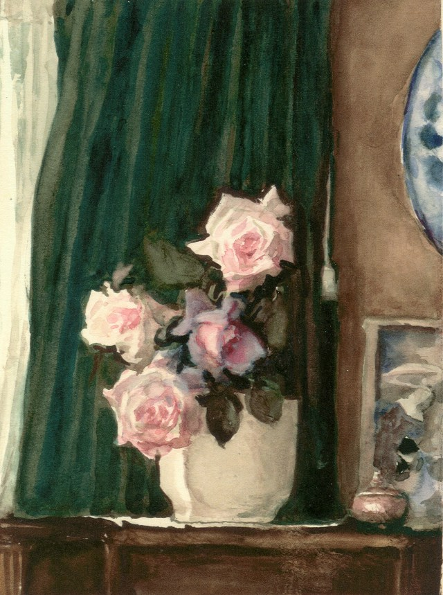 Cottage Roses by FYC