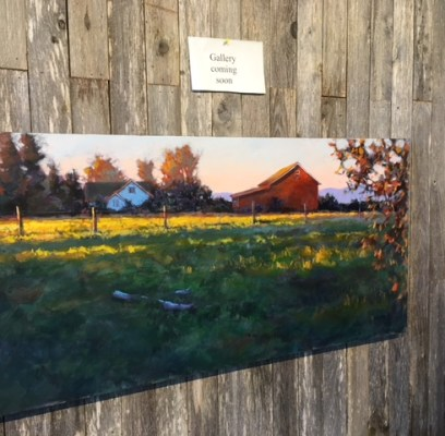 Date for Grand Opening of Dorsey Fine Art Studio at Camano Commons is set