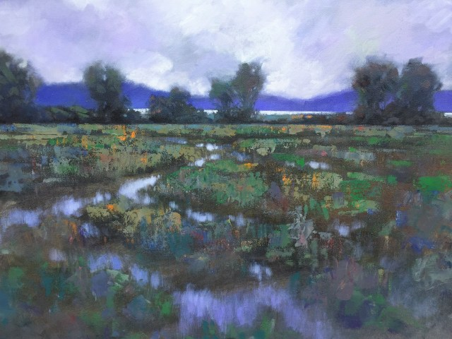 Soft Day, Camano Crossing - 36x24