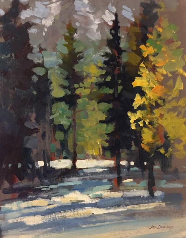 21 - Brush of Winter - 14x11