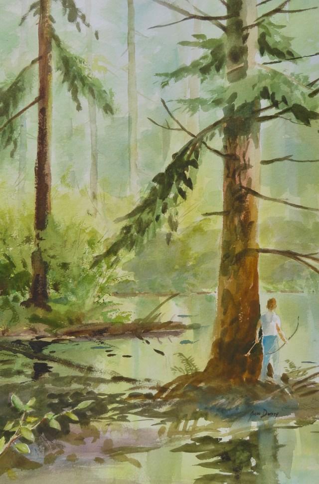 exploring swamp