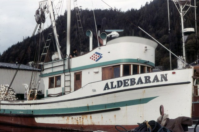 Purse seiner Aldebaran in Ketchikan, 1984