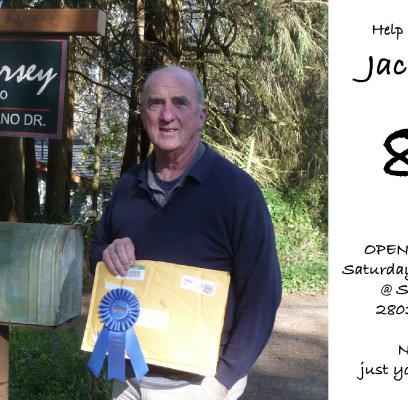 80th Birthday Celebration: Open House for Northwest Watercolor Legend, Jack Dorsey
