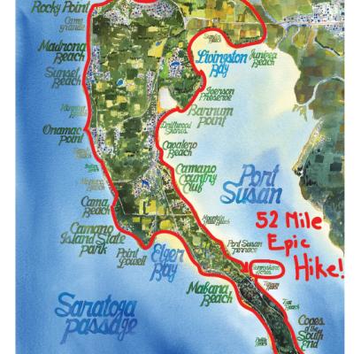 Epic Hike Around Camano Planned