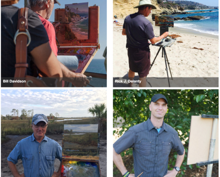 """Jed Dorsey, whose show """"Hope Unlimited"""" opens October 24, is one of 25 of the nation's top award winning plein air artist featured in the 2020 Laguna Beach Plein Air Painting Invitational"""
