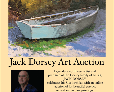 Posters are Out for Jack Dorsey's 81 Birthday Art Show & Auction Celebration
