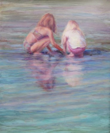 Ann Cory, Low Tide Treasures, 20 x 24, acrylic - 300 dpi for Jason