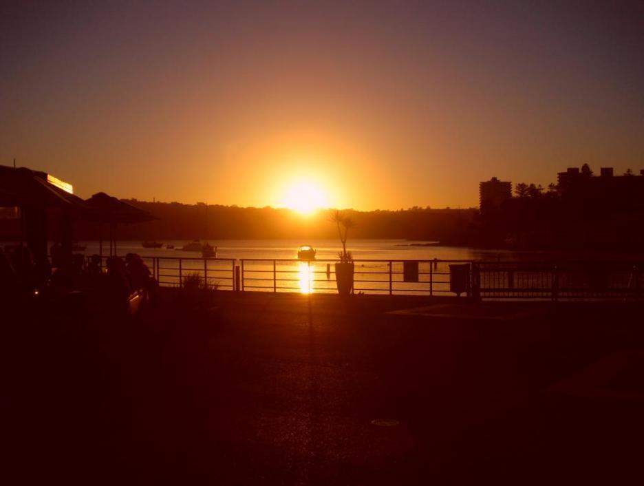Sydney Tipp Sonnenuntergang in Manly