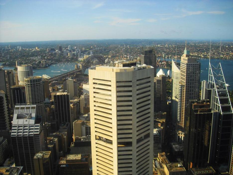 Sydney Tipp Ausblick vom Sydney Tower