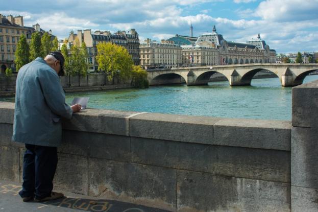 seine paris frankreich