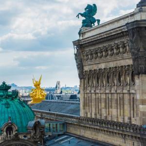 aussicht galeries lafayette paris wochenende in paris