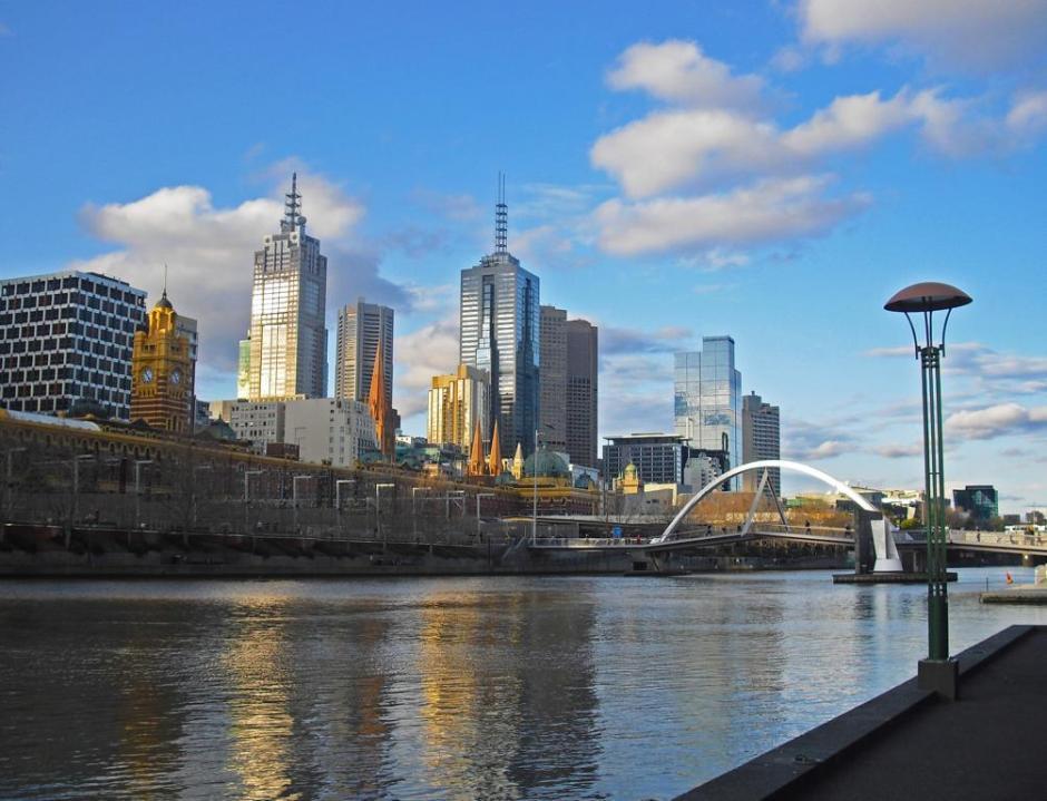 Melbourne Sehenswürdigkeiten Skyline