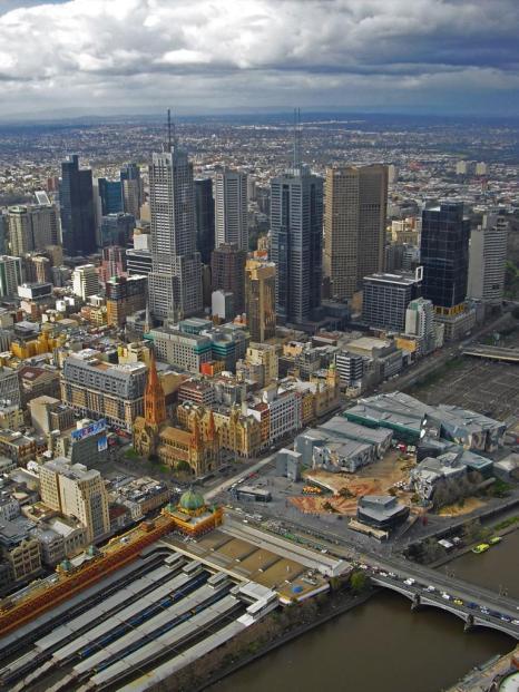 Melbourne Sehenswürdigkeiten Eureka Skydeck 88