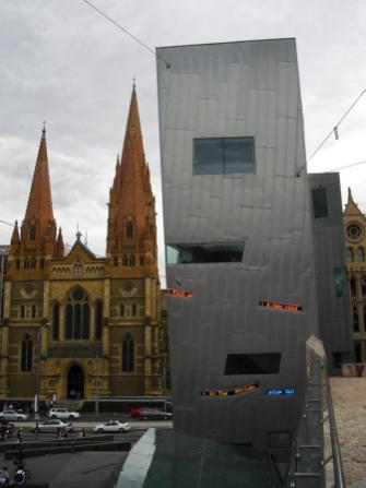 Sehenswürdigkeiten Melbourne Fed Square