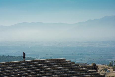 Ausflug Pamukkale Türkei Amphitheater