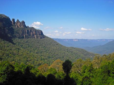 Roadtrip Australien Three Sisters Blue Mountains
