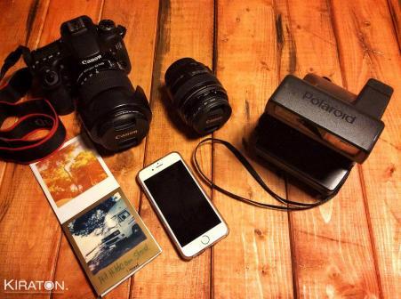 Blogger Kamera Fotoequipment von Kiraton