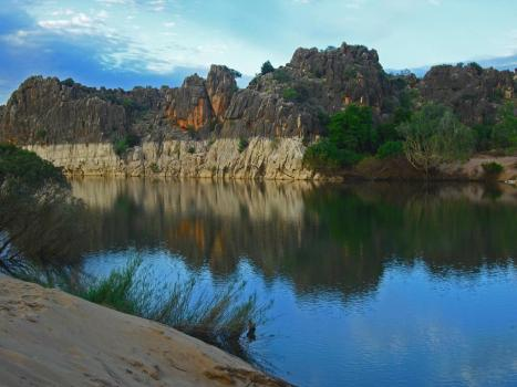Roadtrip Australien Westen Geikie Gorge