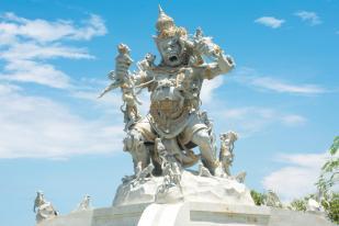 Tempel Bali Uluwatu Tempel Affentempel
