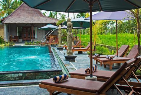 Pajar House Ubud Pool
