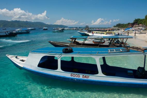 Gili Air Aktivitäten: Mit diesen Booten geht es zum Schnorcheln auf Gili Air