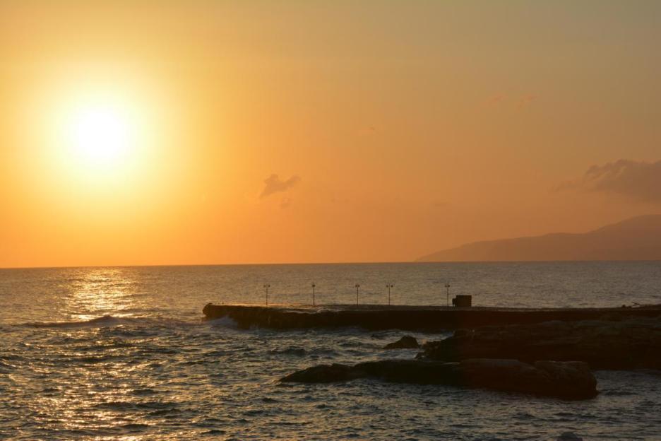 Sonnenaufgang, Chersonissos, Kreta