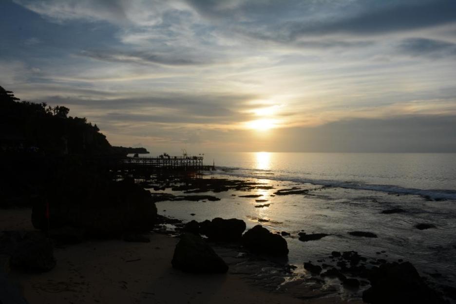 Rock Bar Bali Sonnenuntergang