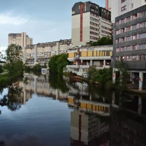 Das Ihmezentrum in Hannover Linden
