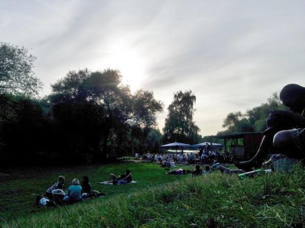 Das Strandleben in Hannover