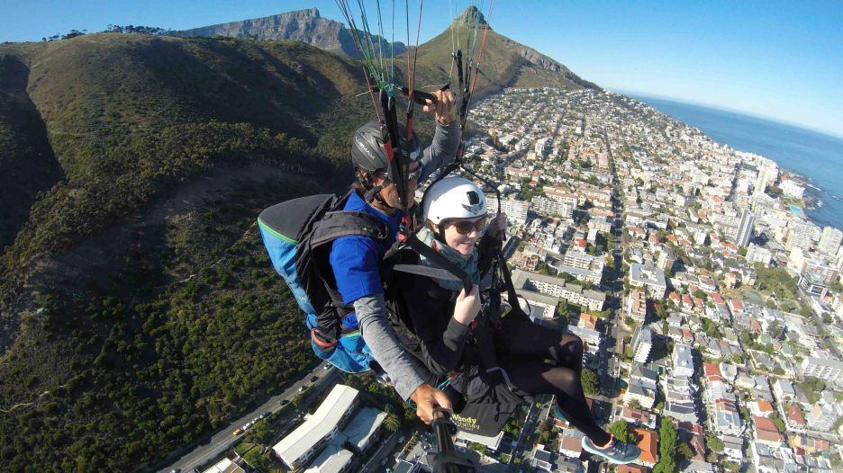 Paragliden Kapstadt