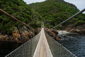 Garden Route Südafrika Sehenswürdigkeiten Tipps Highlights Suspension Bridge