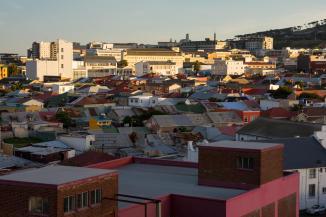 Aussicht Woodstock Kapstadt