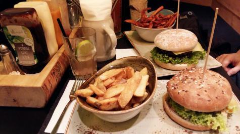 Leipzig Burger hans im glück