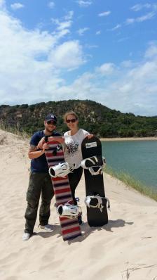 Sandboarding Colchester Südafrika