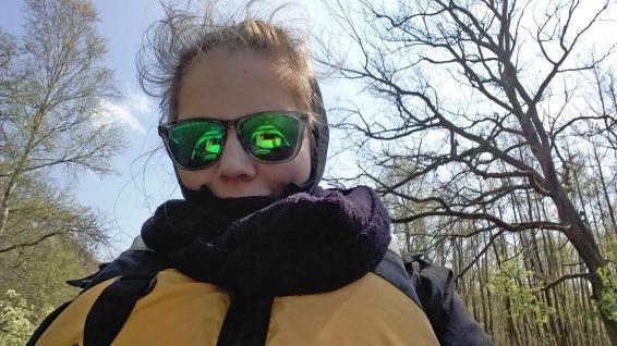 Selfie bei der Kanutour Alte Fahrt