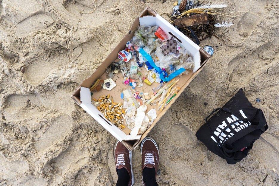 Beach Cleanup Müll