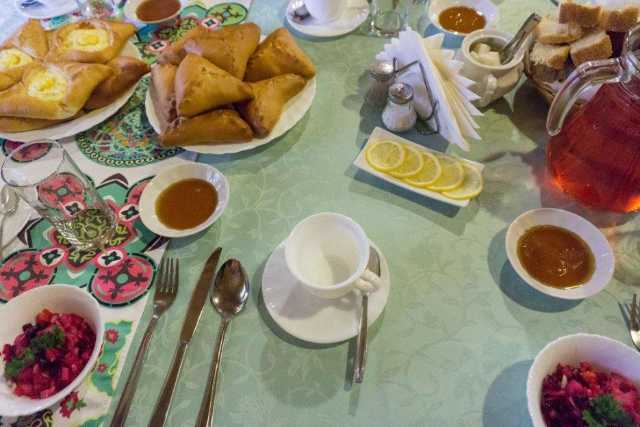 Tatarische Küche Etschpotschmack