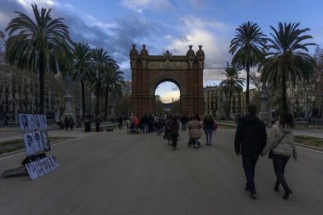 5 Tage Barcelona Triumpfbogen