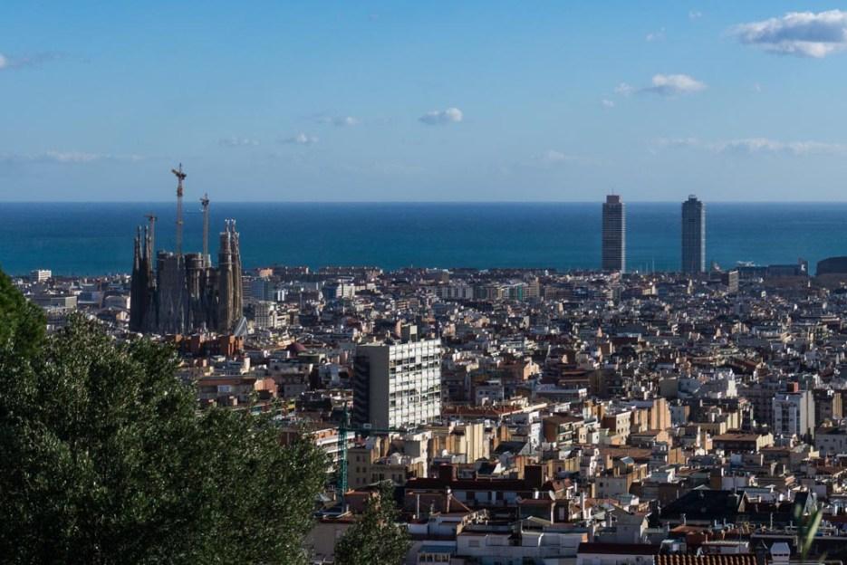 Barcelona Kurztrip Park Güell