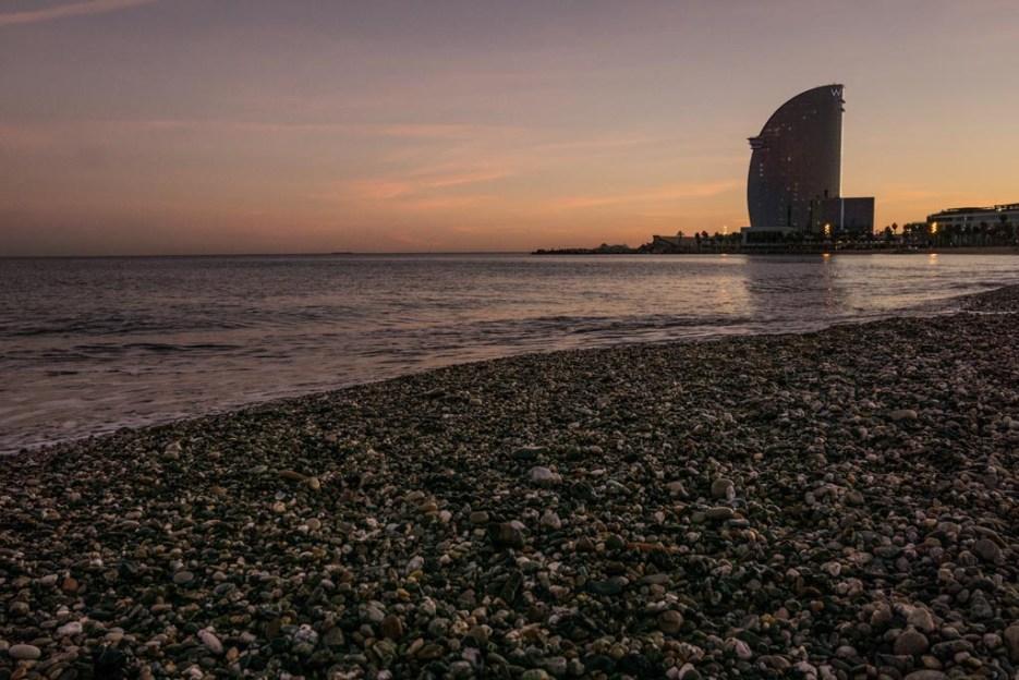 Kurztrip Barcelona Barceloneta Hotel W