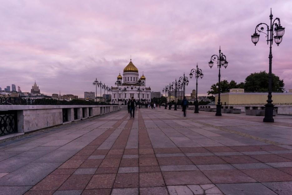 Chrisst Erlöser Kathedrale Moskau