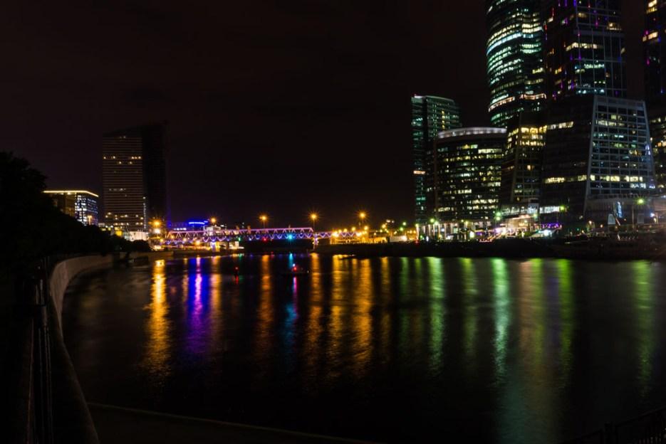 Moskau City Nacht
