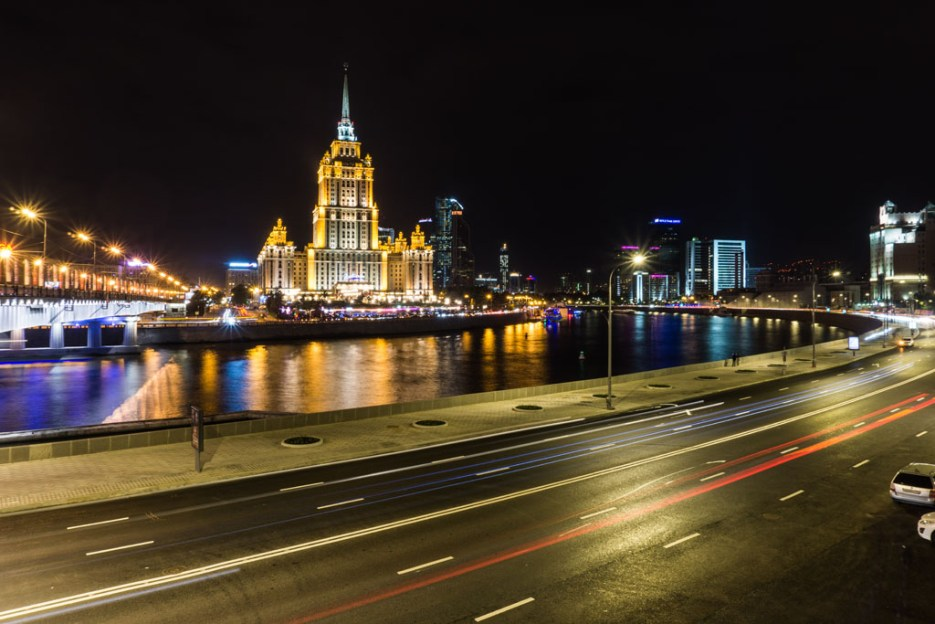 Moskau Stalin Hochhaus