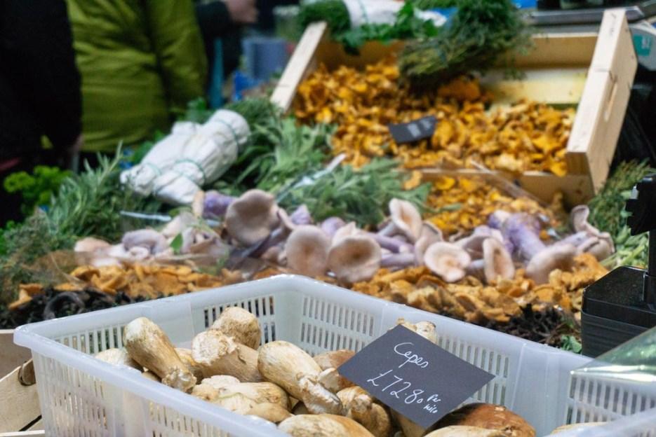 london bei schlechtem wetter borough market