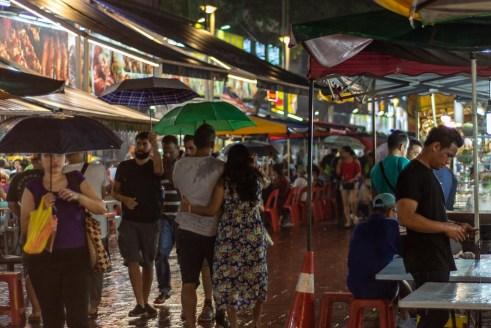 Alor Street Night Market kuala lumpur