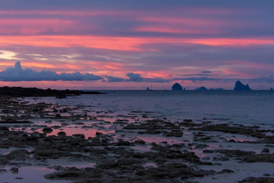 sonnenuntergang koh bulone leh thailand